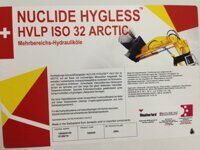 NUCLIDE HYGLESS HVLP 32 ARCTIC бочка 209 л.